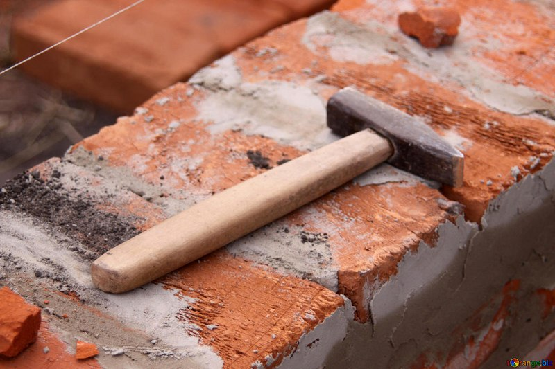 Brick Hammer - Masonry Tool for Bricklaying