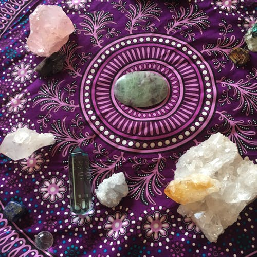 Ideal Crystals for Adequate Vitality and Health