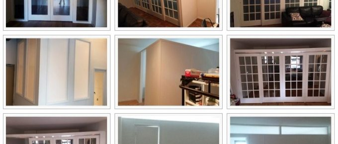 The Various Considerations before Installing a Customized Temporary Wall at Your Apartment