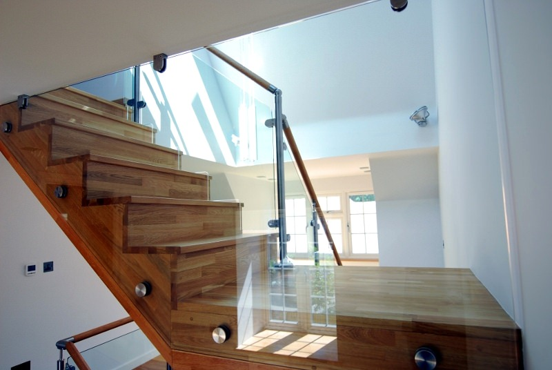 Glass Balustrade on Stairs