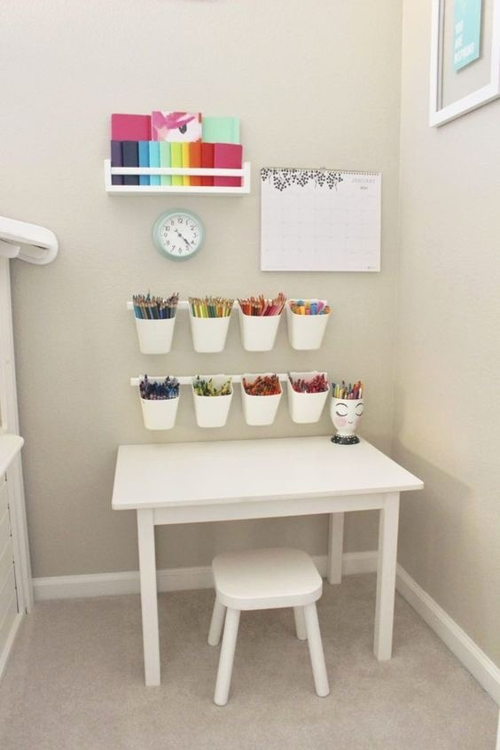 Kids Art Corner Storage