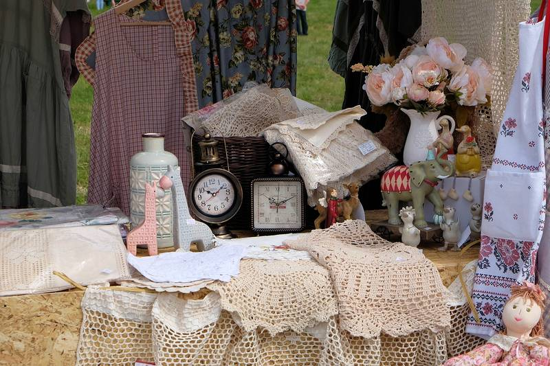Vintage Fabrics and Accessories