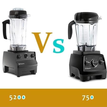 image - Vitamix 5200 Vs 750 Comparison