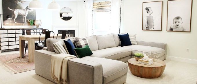 How to Pick Perfect Couches for Your Basement