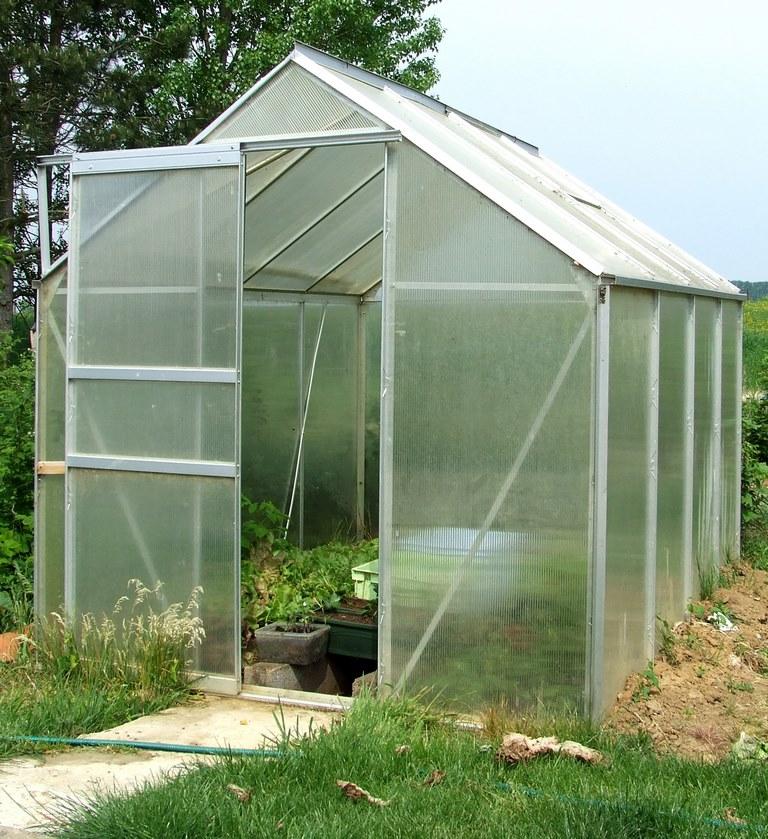 image - Aluminium Greenhouse