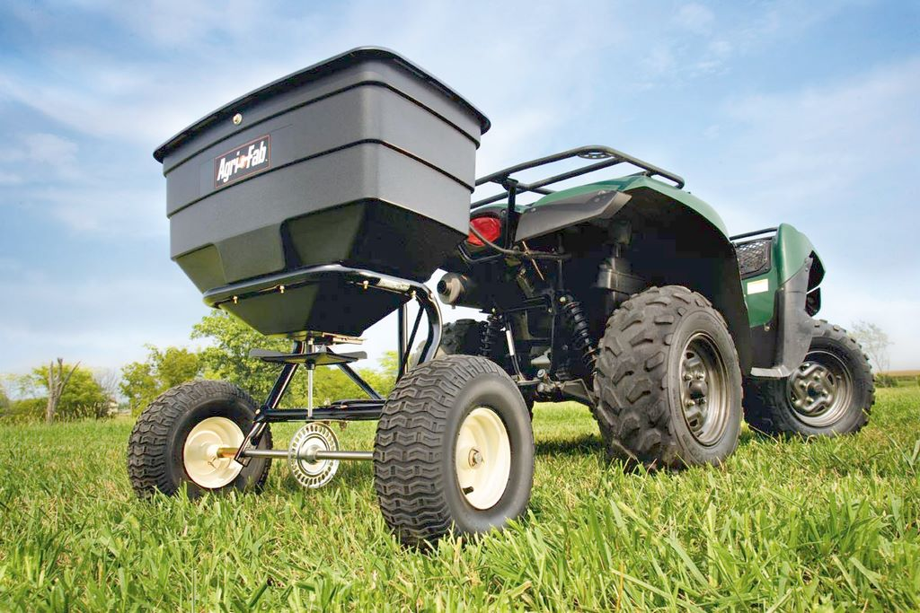 image - Buying Guide for Tow-Behind Broadcast Spreaders