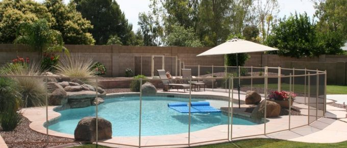 Summer DIY Project – Pool Safety Fence