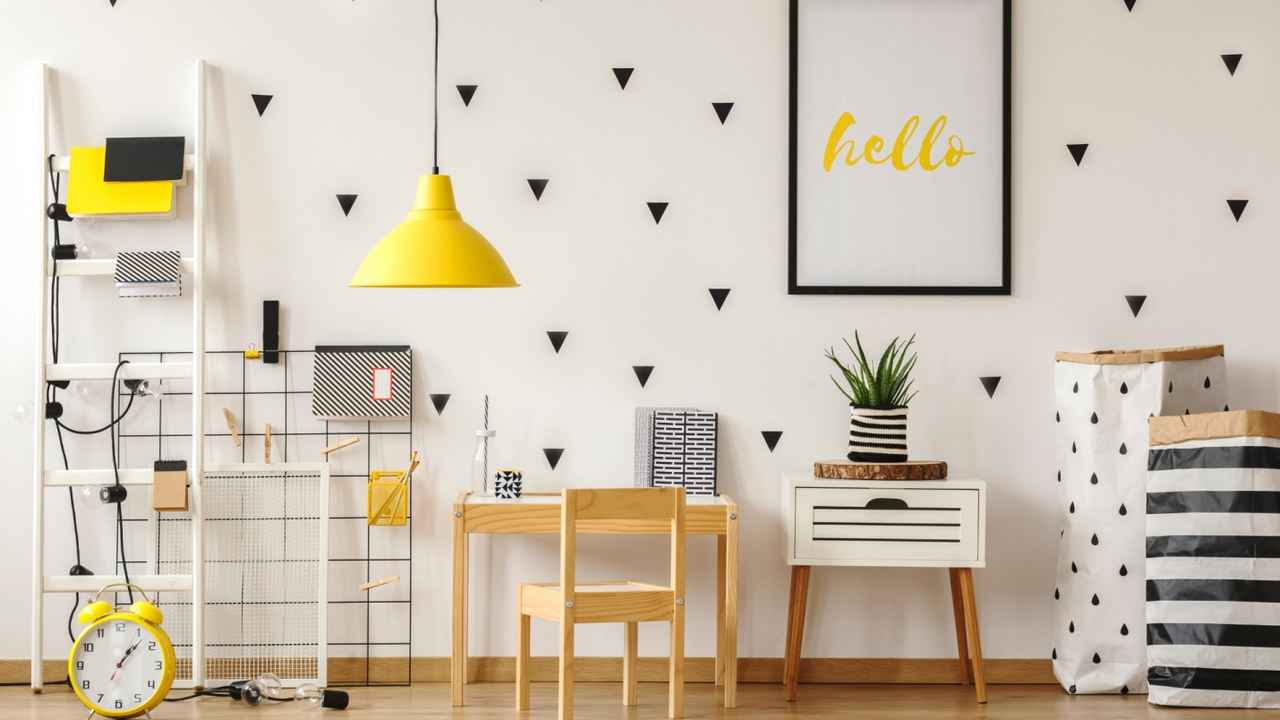 image - Simple wall stickers can modify any ordinary, plain wall.
