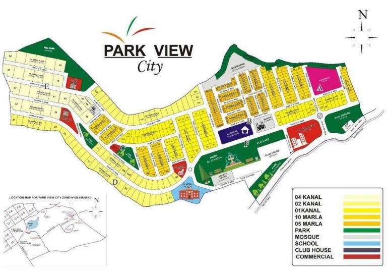 image - Master Plan of Park View City