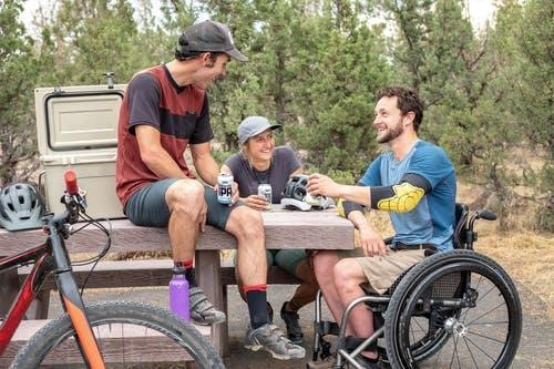 image - How to Build a Temporary Wooden Wheelchair Ramp