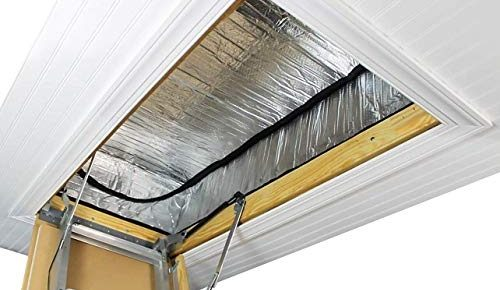 How to Install Attic Stair Insulation Cover