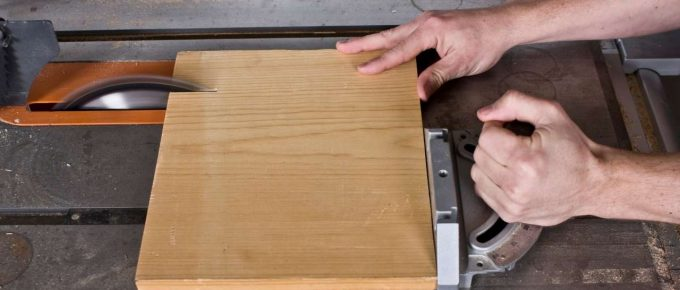 How to Square a Board with a Table Saw?