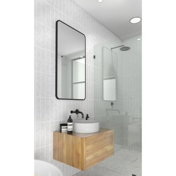 image - Choosing A Corner Bathroom Mirror