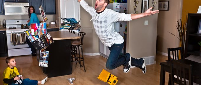 Preventing Slips, Trips and Falls in The Home