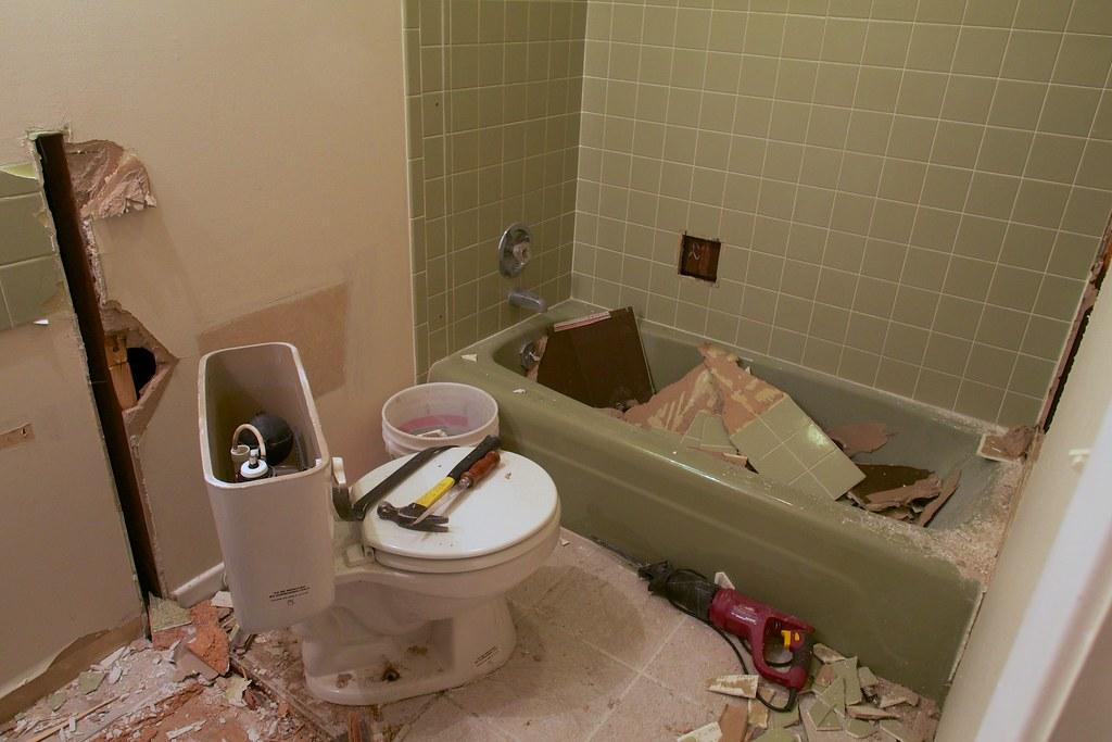 image - DIY Bathroom Demolition for Remodeling