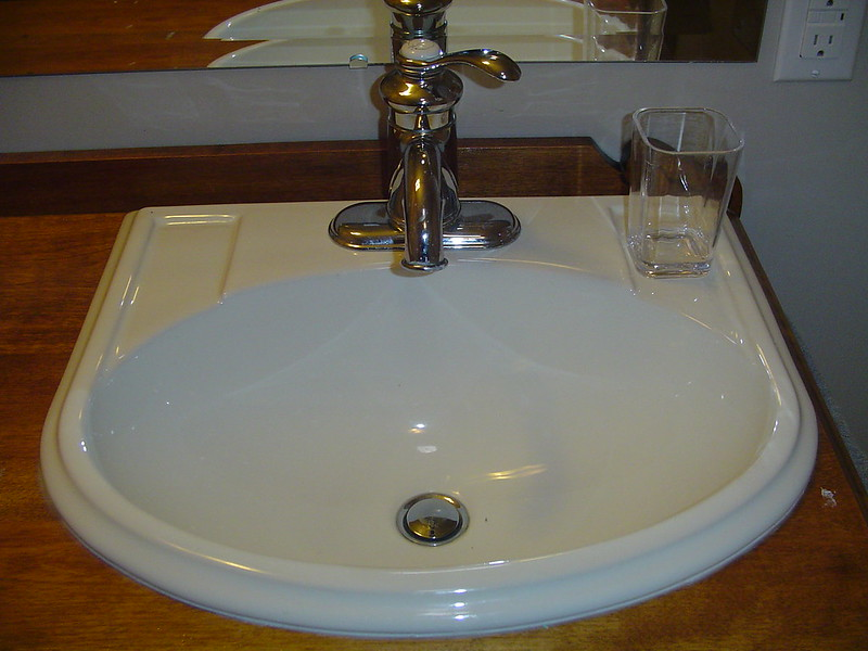 image - Bathroom Makeover Guide How to Put Sink on Countertop