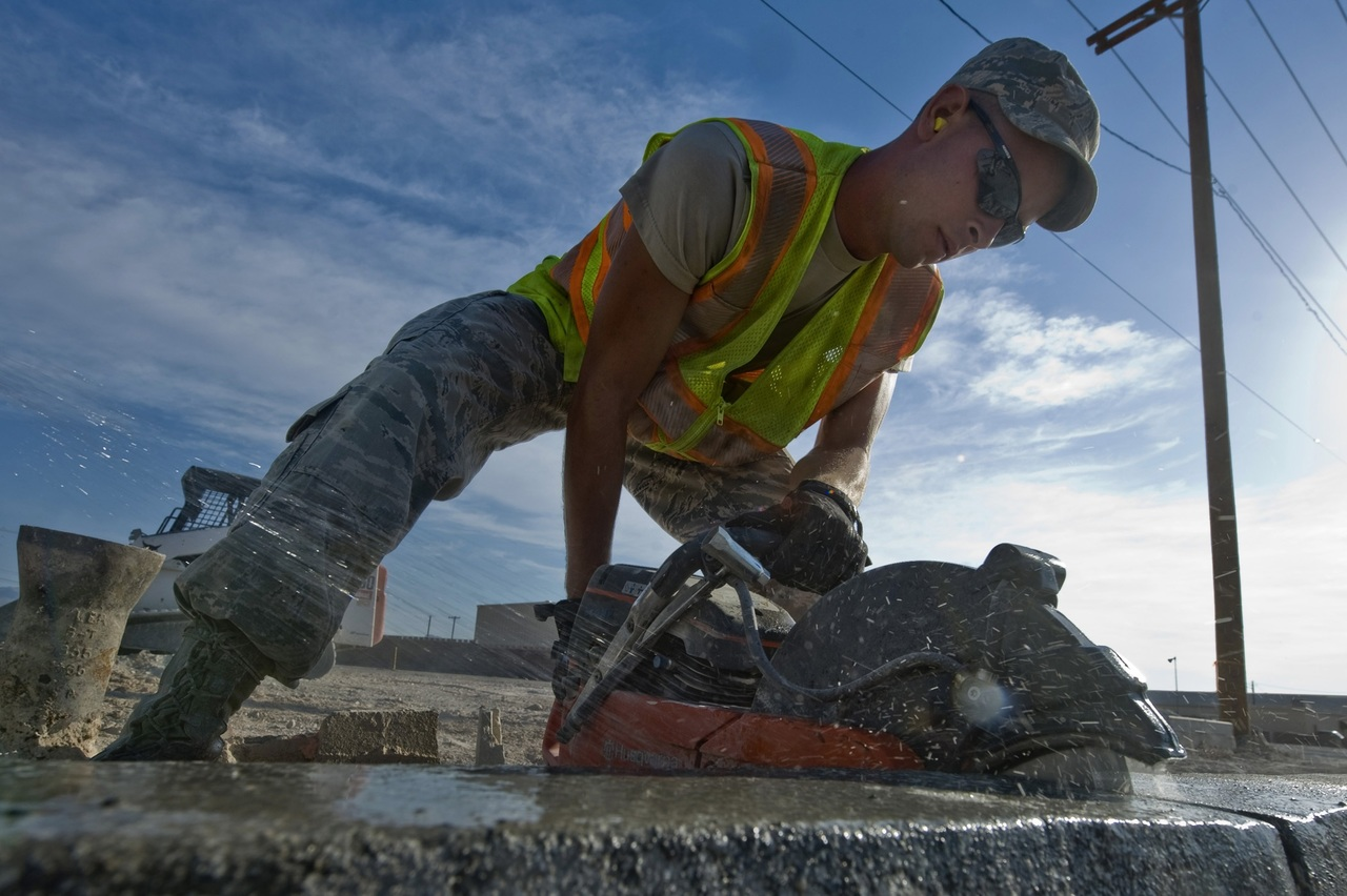 image - How to Cut Concrete with a Concrete Saw; Step-By-Step