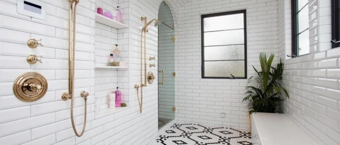 Renovate your Bathing Room with Elegant and Stylish Bathroom Shower Tiles!