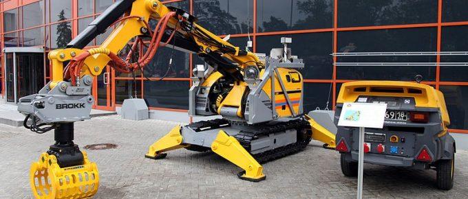 Demolition Robots; 5 Advantages