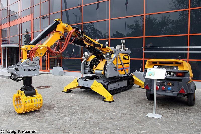 image - Demolition Robots; 5 Advantages
