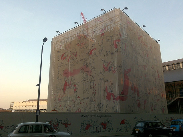 image - The Benefits of Going Big with Building Wraps