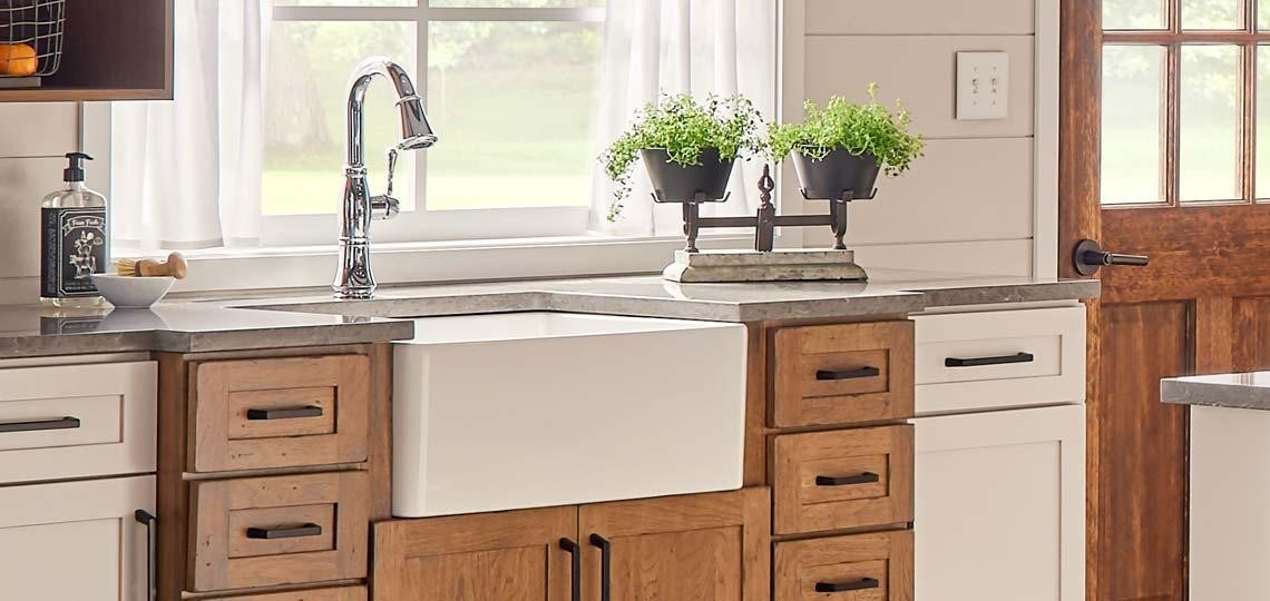 image - Everything You Need to Know About Fireclay Apron Front Sinks
