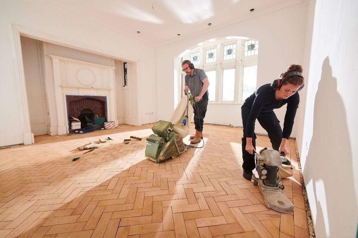 image - How to Sand Hardwood Timber Floors