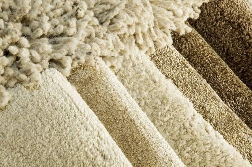 Carpets can be Blended and Coordinated with the Décor, Drapes, and Couch