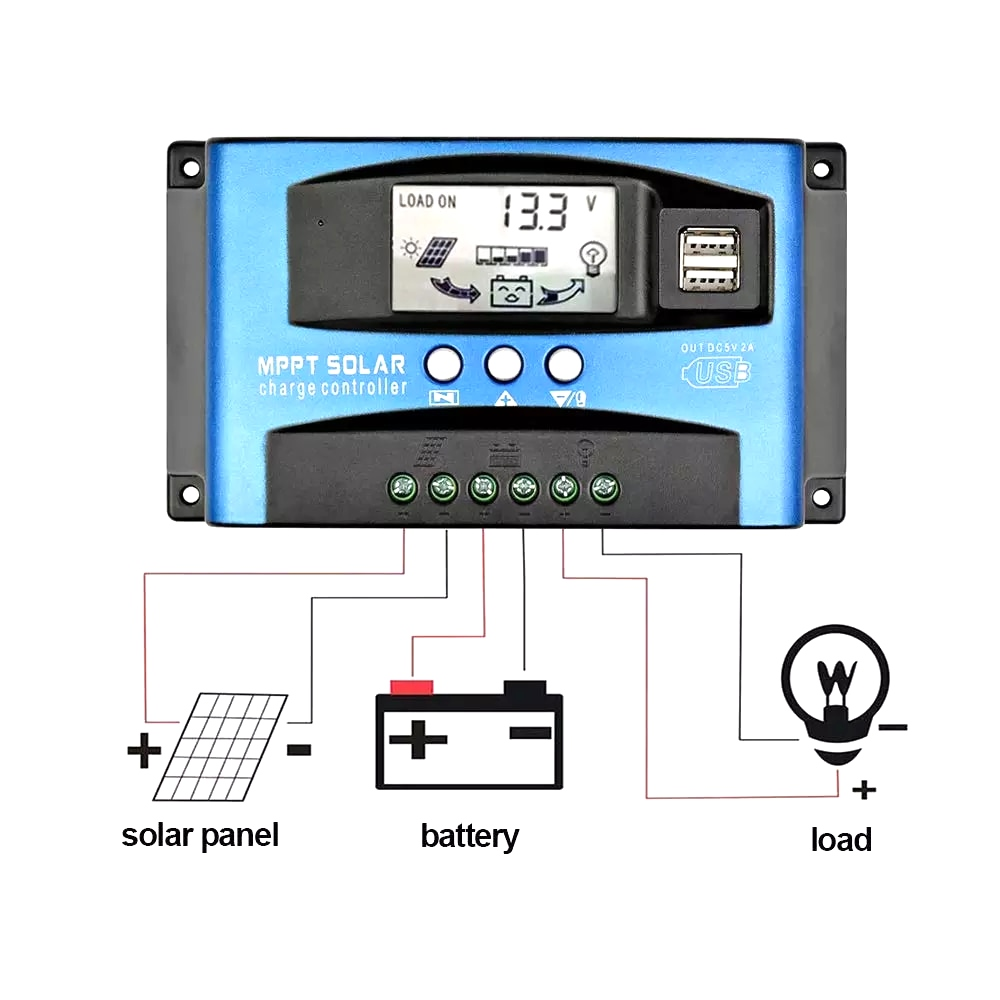image - Different Types of Solar Charge Controller   2 Types of Solar Charge